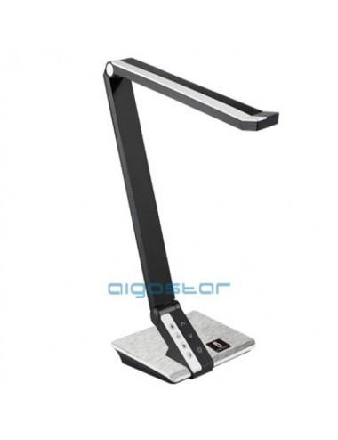 Lampa de birou led 10W 3 in 1, neagra, temperatura de culoare reglabila, 560 lm, Aigostar