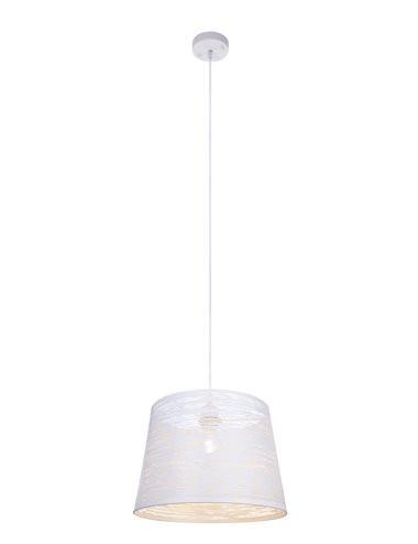 Pendul alb, 1 bec, dulie E27, Globo 15314W