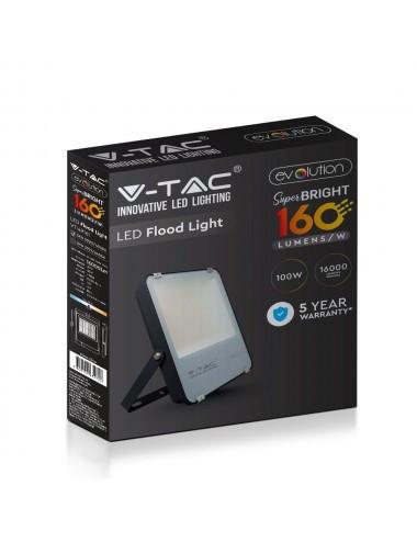 Reflector led 100W, 16000 lm, lumina rece, V-TAC Evolution