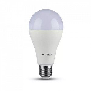 Bec led 17W(100W), E27, 1521 lm, A+, lumina calda (2700 K), V-TAC