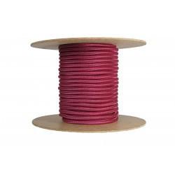 Cablu textil 2x0.75, burgundy