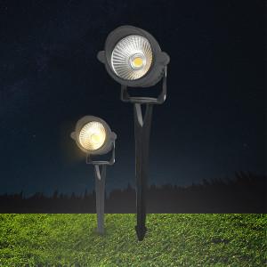 Corp led de gradina Spotlux 9W, protectie IP65, lumina rece(6500 K), Braytron