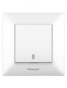 Intrerupator alternativ, 10A, IP20, Alb, Panasonic Arkedia Slim