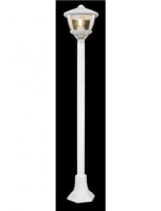 Lampa de exterior mat alb, 1 bec, dulie E27, Globo 31993