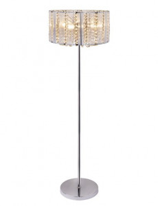 Lampadar modern cu cristale, dulie E14, Globo 15091S