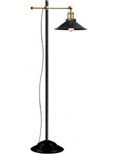 Lampadar vintage negru, dulie E27, Globo 15053S