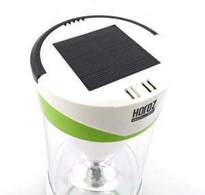 Lanterna led cu acumulator 10W, incarcare solara, dimabila