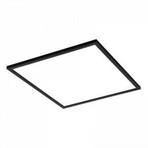 Panou led 60x60 60W lumina naturala, aplicat, 4800 lm, negru