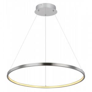 Pendul LED 29W, dimabil, lumina calda, metal, culoare nichel, 67192-29 Globo