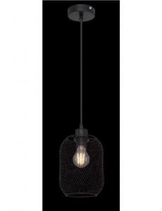 Pendul negru mat, dulie E27, Globo 15047H2