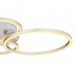 Plafoniera LED 40W Kendy,lumina calda, flux luminos 1960 lm, alba, 67233-40N Globo