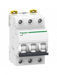 Siguranta automata 3P, 20A, curba de declansare C, capacitate de rupere 6kA, Schneider