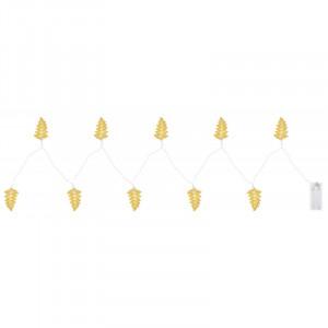 Sir luminos frunze 165 cm, cu baterii, Globo