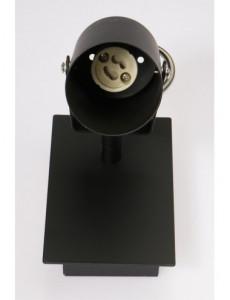 Spot aplicat, negru, dulie GU10, Kobi