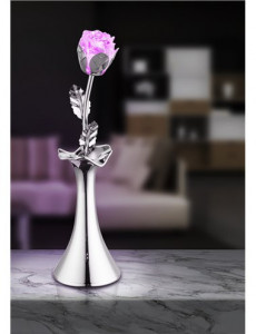 Veioza in forma de vaza cu floare, Globo 28112