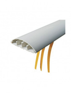 Canal cablu pardoseala cu adeziv 70x18, gri, bara 2 metri