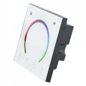 Controller banda led RGB/RGBW, montaj in doza, 12A, 12-24V