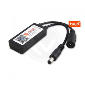 Controller monocolor Smart Wifi Tuya, 5-24V, 6A