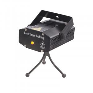 Laser decorativ negru, rosu si verde, afisaj si schimbare culori, 32019 Globo