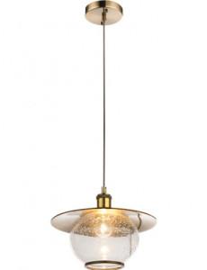 Pendul bronz sticla, 1 bec, dulie E27, globo 69030H