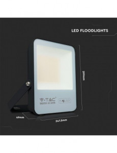 Reflector led 100W, 16000 lm, lumina rece, V-TAC Evolution