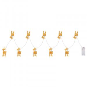Sir luminos reni, 165 cm, cu baterii, Globo