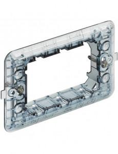 Suport 3 module, plastic, IP20, Bticino Matix