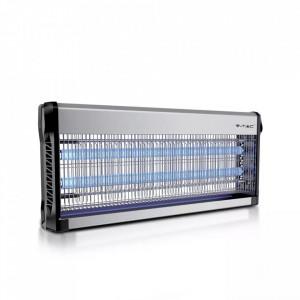 Aparat UV anti-insecte electronic, 40W, 150 mp, negru-gri, V-TAC