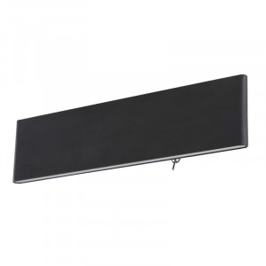 Aplica LED Siefried, putere 12W, lumina calda(3000 K), aluminiu negru, 41751W-12B Globo