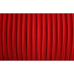Cablu Textil Rosu 2x0,75