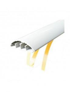 Canal cablu pardoseala cu adeziv 50x12, alb, bara 2 metri