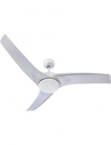 Candelabru cu ventilator Globo 0305, 2 becuri, dulie E14, argintiu