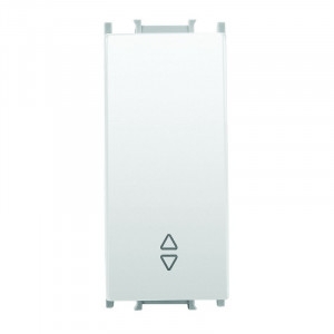 Intrerupator cap scara 1 modul Thea Modular Panasonic, Alb