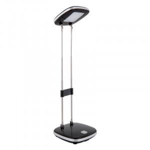 Lampa de birou LED 3.6W, lumina calda, plastic si metal, neagra, 58131 Globo