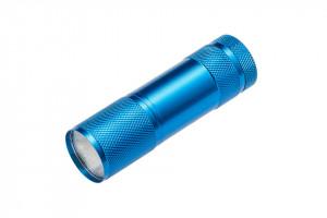 Lanterna LED 3W, 150 lm, lumina rece(6400 K), IP44, alimentare cu 3 baterie AAA(neincluse) GTV