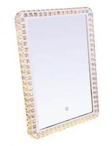 Oglinda cromata cu cristale, Globo 84031