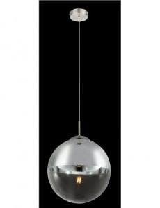 Pendul nichel mat, 1 bec, dulie E27, Globo 15853