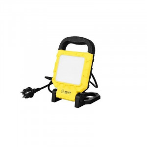 Proiector LED portabil 20W(160W), 1450lm, lumina rece(6400K), carcasa pliabila IP54, Horoz Electric