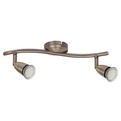 Spot Norman LED bronze, 6626, Rabalux