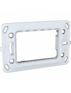 Suport 3 module, plastic, IP20, Schneider Unica