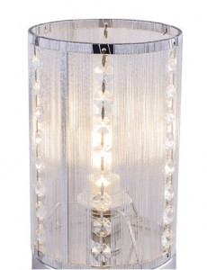 Veioza moderna cu cristale, dulie E14, Globo 15091T