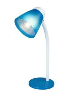 Veioza plastic albastru, 1 bec, dulie E14, Globo 24807