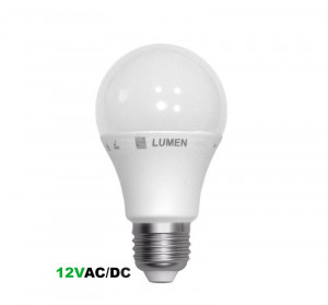 Bec led 12V E27, 8W (55W), 4000K, 650lm, A+, Lumen