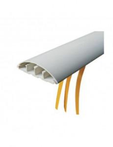 Canal cablu pardoseala cu adeziv 50x12, gri, bara 2 metri