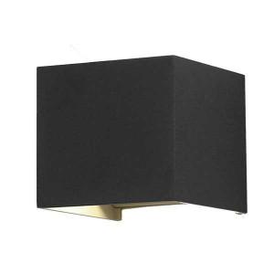 Corp led exterior 2x6W, unghi lumina reglabil, negru, lumina naturala(4000 K), Optonica