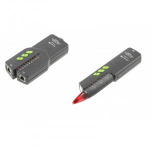 Detector cabluri RJ11, RJ45 si NCV, Hogert Technik