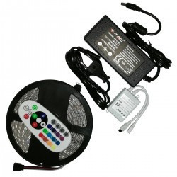 Kit banda Led RGB 5050 IP65 5 metri