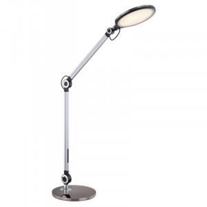 Lampa de birou LED 10W, dimabila, temperatura de culoare ajustabila, negru-argintiu, 58421B Globo