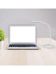 Lampa de birou LED 7W, intesitate reglabila, lumina calda 3000K, V-TAC