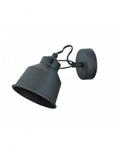 Lampa de perete neagra, orientabila, dulie E14, Polux